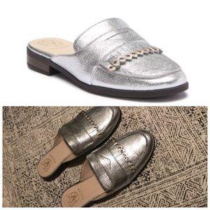 Cole Haan Pinch Kiltie Mule Slide leather shoes